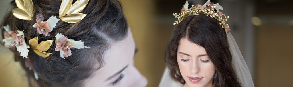 اكسسوارات للشعر تقطر نعومة للعروس الرومانسية