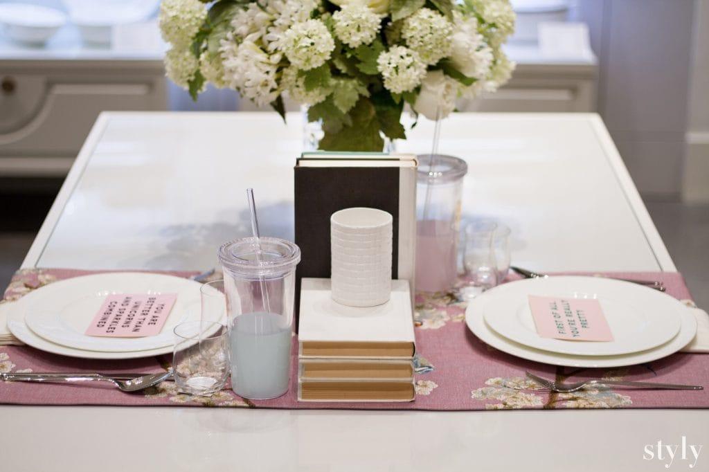 أفكار خارجة عن المالوف لترتيب طاولة الطعام من الأميرة نور بني هاشم